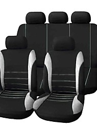 cheap -9pcs/set Car Seat Cover Comfortable Dustproof Seat Protector Cloth Art Protect Cushion Car Seats Car-styling Car Interior Automobiles Universal Full Seat Pad Cover