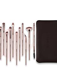 abordables -Professionnel Pinceaux à maquillage 12 pcs Professionnel Doux Design nouveau Confortable Plastique pour Pinceau de maquillage