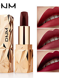 Недорогие -dnm длительное матовое изменение цвета помады увлажняющий крем бархатный блеск для губ водонепроницаемый косметический макияж косметика