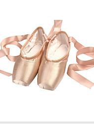 cheap -Girls' Dance Shoes Silk Ballet Shoes Flat Flat Heel Pink