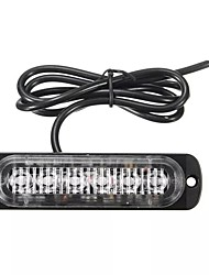 cheap -1pcs 18W LED Car Strobe Light Emergency Lamp Warning Flashing Lighting Amber/White