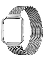 cheap -Smart Watch Band for Fitbit 1 pcs Milanese Loop Stainless Steel Replacement  Wrist Strap for Fitbit Blaze