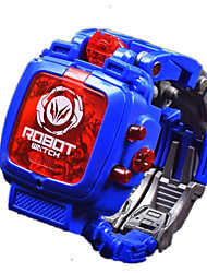 cheap -Toy Watch Novelty Robot Transformable Boys' Girls' 1 pcs Pieces Plastics Toy Gift