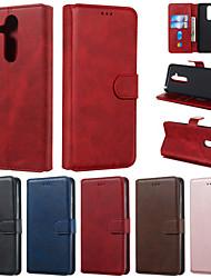 Недорогие -чехол для nokia 9 pureview 7.1 чехол для телефона искусственная кожа материал сплошной цвет шаблон чехол для телефона для nokia x7 4.2 3.2 1plus