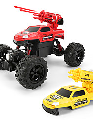 cheap -RC Car 338 4CH 2.4G Off Road Car 1:12 Brush Electric 9 km/h Magnetized / Remote-Controlled / Kits