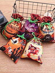 cheap -Thanksgiving birthday party gift bags Halloween decoration accessories