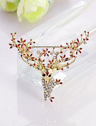 cheap -Women's Brooches Animal Fashion Brooch Jewelry Red Blue For Christmas Gift Daily