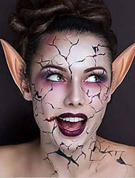 cheap -1 Pairs Halloween Latex Elf Ears Cosplay Masks Fairy Goblin Nature Color