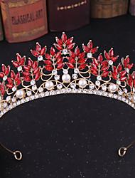 cheap -Alloy Tiaras / Headpiece with Metal / Crystals / Rhinestones 1 pc Wedding / Party / Evening Headpiece