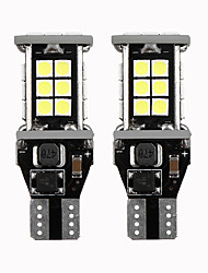 cheap -2PCS T15 W16W 921 912 Super Bright 3030 24 SMD LED CANBUS NO ERROR Car Backup Reserve Lights Bulb Tail Lamp