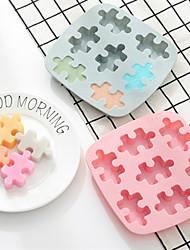 Недорогие -Силиконовые инструменты для выпечки ледяные тарелки пресс-формы diy cookie инструменты микроволновая печь шоколад 3d головоломки формы