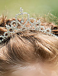 cheap -Rhinestone / Alloy Headbands with Rhinestone 1 Piece Wedding Headpiece