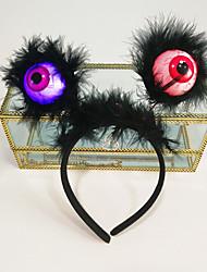 cheap -Cute Headbands Women Girl Halloween Animal Ears Devil Wings Bat Cosplay Hair Band