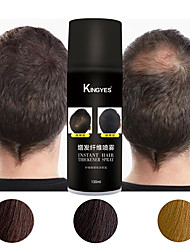 cheap -130ml Fast Hair Extension Fibers Hair Building Spray Cover White Hair Replacement Hair Loss Products Black Brown