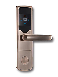 cheap -Factory OEM PRND-RF107 Zinc Alloy Card Lock Smart Home Security Android System RFID Home / Office / Hotel Wooden Door (Unlocking Mode Card)