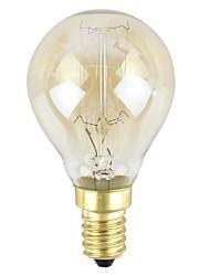 cheap -1pc 40 W E14 Warm White Decorative Incandescent Vintage Edison Light Bulb 110-120 V