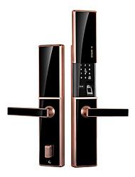 cheap -Factory OEM H Zinc Alloy lock / Fingerprint Lock / Intelligent Lock Smart Home Security Android System RFID / Fingerprint unlocking / Password unlocking Home / Office / Hotel Wooden Door (Unlocking