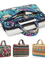 cheap -11.6 Inch Laptop / 12 Inch Laptop / 13.3 Inch Laptop Sleeve / Briefcase Handbags Canvas Solid Color Unisex Waterpoof Shock Proof