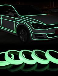 abordables -1pc lumière de nuit 3m 10mm ruban de lumière réfléchissante auto-éclairage escaliers guide bande d'avertissement lumineux dans l'autocollant adhésif foncé pour la maison