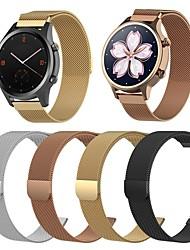 Недорогие -18мм 20мм 22мм ремешок для часов для ticwatch c2 ticwatch ювелирный дизайн браслет из нержавеющей стали