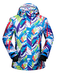 cheap -Women's Ski Jacket Ski / Snowboard Winter Sports Thermal Warm Waterproof Windproof Polyester Winter Jacket Ski Wear