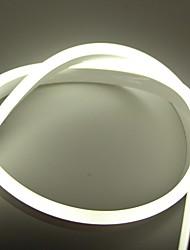 cheap -5m Flexible LED Light Strips 600 LEDs White / Red / Blue Creative / New Design / TV Background 110 V 1 set