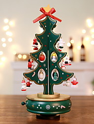 cheap -Christmas Ornaments Christmas Tree Wooden Christmas tree Novelty Christmas Decoration