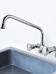 cheap -Adjustable Center Wall Kitchen Sink Tap Mini Pre Rinse Unit with Pull Down Spray
