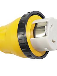 Недорогие -RV электрический замок адаптер 15a штекер до 50a штекер разъем