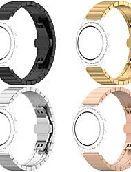 abordables -bracelet de montre pour huami amazfit bip younth regarder bracelet en acier inoxydable boucle milanese amazfit