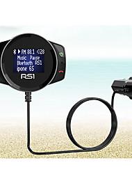 Недорогие -Bluetooth зарядное устройство автомобильный FM модулятор стерео авто mp3 плеер аудио адаптер FM передатчик быстрое зарядное устройство поддержка диск