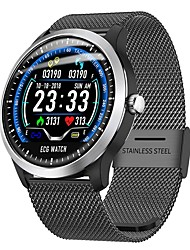 cheap -Smartwatch Digital Modern Style Sporty Genuine Leather 30 m Water Resistant / Waterproof Heart Rate Monitor Bluetooth Digital Casual Outdoor - Black Silver Yellow