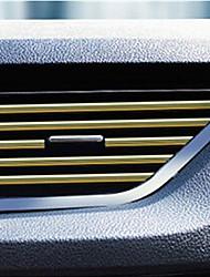Недорогие -салон автомобиля кондиционер на выходе вентиляционная решетка планки украшение u форма отделка салона декоративная планка