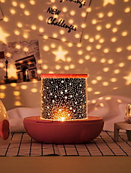 cheap -Amazing LED Star Projector Light Tiktok Star Light Nebula Projector Creative Night Light Projector Modern Design Home Decoration Perfect for Kids As a Night to Sleep USB Powered