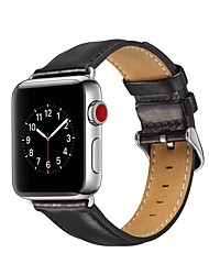 cheap -Watch Band for Apple Watch Series 4/3/2/1 Apple Business Band Genuine Leather Wrist Strap