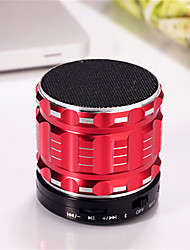 cheap -Mini Metal Bluetooth Speaker S28 Stereo Wireless Portable Speaker Super BASS Subwoofer With Microphone Support TF Card FM Radio