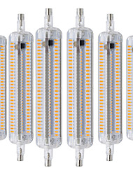 abordables -ywxlight® 6pcs r7s 118mm 3014 smd 228led led projecteur encastré retrofit lampe chaude blanc froid blanc naturel blanc ac 220-240v