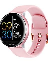 Недорогие -Для пары Смарт Часы С автоподзаводом Стильные силиконовый Черный / Серый / Розовый 30 m Пульсомер Bluetooth Smart Аналоговый Мода - Черный Розовый Серый Один год Срок службы батареи