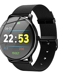 cheap -Smartwatch Digital Modern Style Sporty 30 m Water Resistant / Waterproof Heart Rate Monitor Bluetooth Digital Casual Outdoor - Black Golden Silver