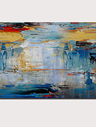 cheap -Oil Painting Handmade Hand Painted Wall Art Abstract Pop Art Modern Home Decoration Décor Stretched Frame Ready to Hang