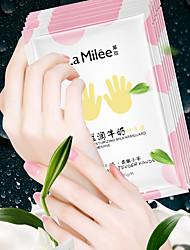 cheap -6Pcs/LAMILEE Milk Moist Hand Skin Care Hand Mask Moisturizing Glove Whitening Exfoliating Calluses Anti Chapping Care Tender