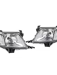 cheap -Pair Front Left / Right Clear LED Headlights Lamp For Toyota Hilux SR SR5 2005-2011