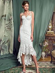 cheap -Women's Sheath Dress - Solid Colored White S M L XL