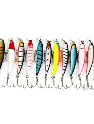 cheap -1 pcs Fishing Lures Hard Bait Metal Bait Sinking Bass Trout Pike Bait Casting General Fishing Metal