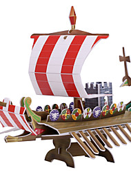 cheap -One Piece 3D Puzzle Mini Ship Black Pearl 3D Cartoon 1 pcs Kids All Toy Gift