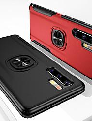 Недорогие -Кожаный доспех магнитное кольцо чехол для телефона для Huawei P30 Pro P30 Lite P20 Pro P20 Lite Mate 20 Pro Mate 20 Lite Mate 20 х ударопрочный жесткий чехол подставка для ПК для Y9 2019 Честь 20 Pro