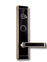 cheap -Factory OEM PRND-RF215 Zinc Alloy Card Lock Smart Home Security Android System RFID Hotel Wooden Door (Unlocking Mode Card)