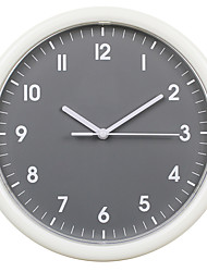 cheap -Wall Clock,Modern Contemporary Wall Hanging Plastic & Metal Round Indoor