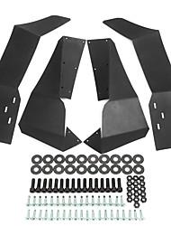 cheap -96*9*40cm Wheel Fender-Flares-Mud-Flaps Set For Beach Buggy RZR-S-900 /RZR-S-1000 2015-2017