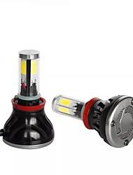 cheap -G5 4 Sides 80W 8000LM COB LED Car Headlights H8/H9/H11 9005 9007 880 Fog Lamps 9-36V 6000K 2PCS - H8/H9/H11